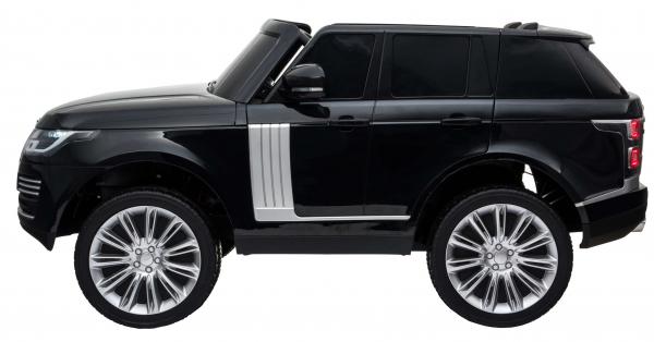 Masinuta electrica Premier Range Rover Vogue HSE, 12V, 2 locuri, roti cauciuc EVA, scaun piele ecologica, negru [3]