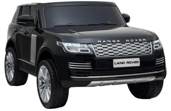 Masinuta electrica Premier Range Rover Vogue HSE, 12V, 2 locuri, roti cauciuc EVA, scaun piele ecologica, negru [6]