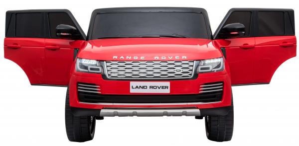 Masinuta electrica Premier Range Rover Vogue HSE, 12V, 2 locuri, roti cauciuc EVA, scaun piele ecologica, rosu [7]