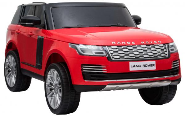 Masinuta electrica Premier Range Rover Vogue HSE, 12V, 2 locuri, roti cauciuc EVA, scaun piele ecologica, rosu [6]
