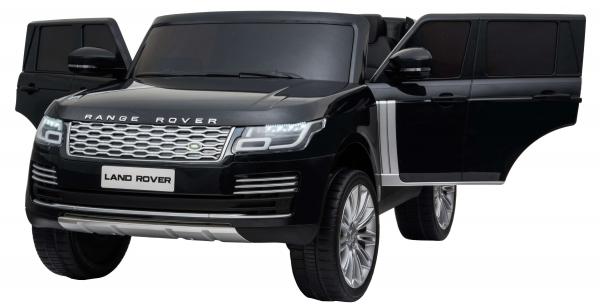 Masinuta electrica Premier Range Rover Vogue HSE, 12V, 2 locuri, roti cauciuc EVA, scaun piele ecologica, negru [8]