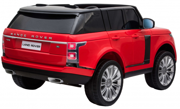 Masinuta electrica Premier Range Rover Vogue HSE, 12V, 2 locuri, roti cauciuc EVA, scaun piele ecologica, rosu [5]