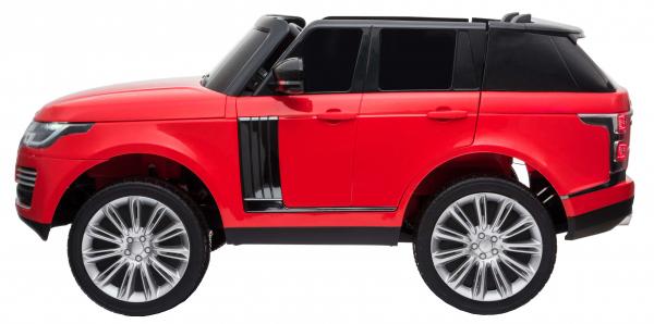 Masinuta electrica Premier Range Rover Vogue HSE, 12V, 2 locuri, roti cauciuc EVA, scaun piele ecologica, rosu [2]