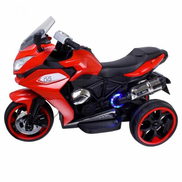 Motocicleta electrica cu 3 roti Premier Sport, 6V, 2 motoare, MP3, rosu [3]