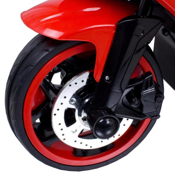 Motocicleta electrica cu 3 roti Premier Sport, 6V, 2 motoare, MP3, rosu [6]