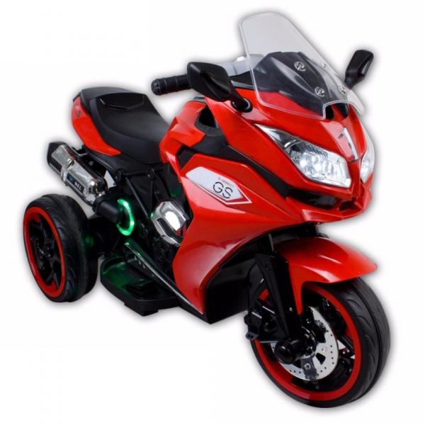 Motocicleta electrica cu 3 roti Premier Sport, 6V, 2 motoare, MP3, rosu [0]
