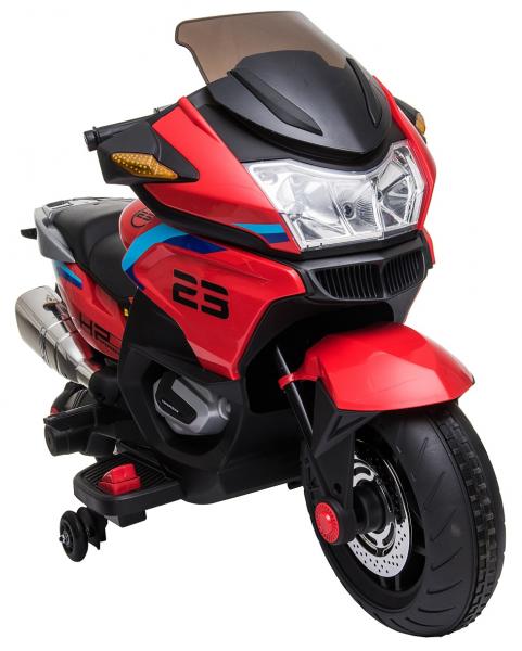 Motocicleta electrica cu 2 roti Premier Flash, 12V, roti cauciuc EVA, MP3 19