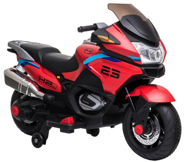 Motocicleta electrica cu 2 roti Premier Flash, 12V, roti cauciuc EVA, MP3 15