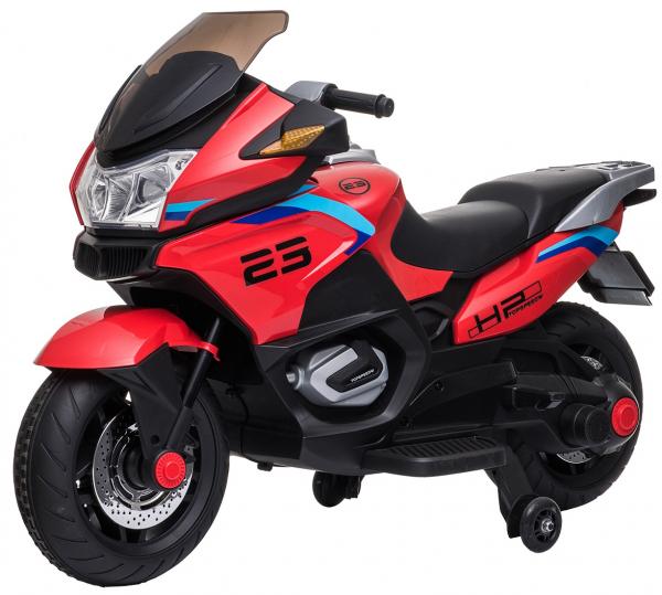 Motocicleta electrica cu 2 roti Premier Flash, 12V, roti cauciuc EVA, MP3 0