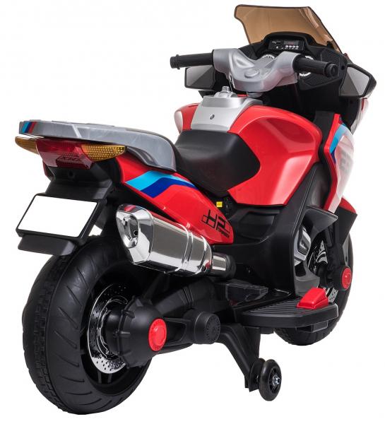 Motocicleta electrica cu 2 roti Premier Flash, 12V, roti cauciuc EVA, MP3 11