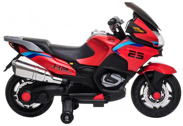 Motocicleta electrica cu 2 roti Premier Flash, 12V, roti cauciuc EVA, MP3 14