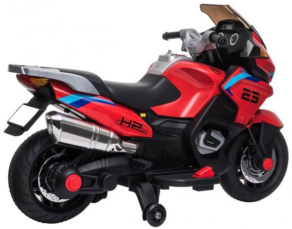 Motocicleta electrica cu 2 roti Premier Flash, 12V, roti cauciuc EVA, MP3 13