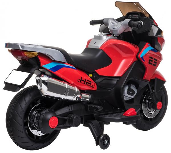 Motocicleta electrica cu 2 roti Premier Flash, 12V, roti cauciuc EVA, MP3 12