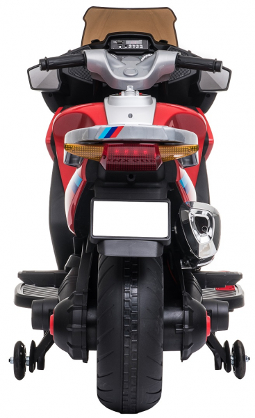 Motocicleta electrica cu 2 roti Premier Flash, 12V, roti cauciuc EVA, MP3 9
