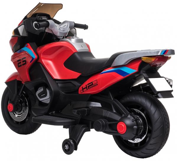 Motocicleta electrica cu 2 roti Premier Flash, 12V, roti cauciuc EVA, MP3 6
