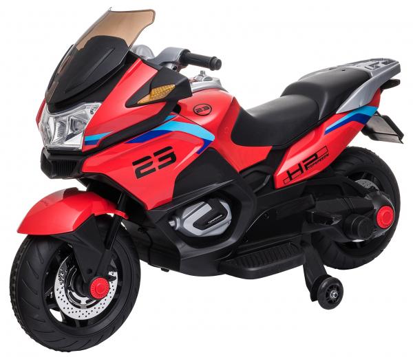 Motocicleta electrica cu 2 roti Premier Flash, 12V, roti cauciuc EVA, MP3 18