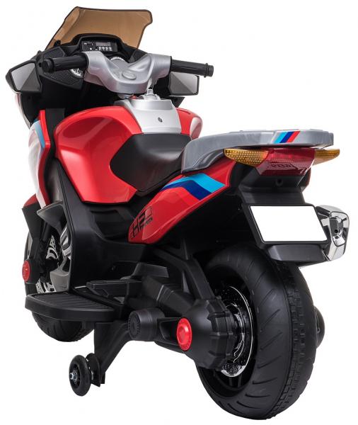 Motocicleta electrica cu 2 roti Premier Flash, 12V, roti cauciuc EVA, MP3 8