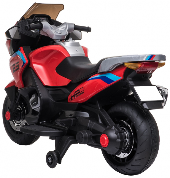 Motocicleta electrica cu 2 roti Premier Flash, 12V, roti cauciuc EVA, MP3 7