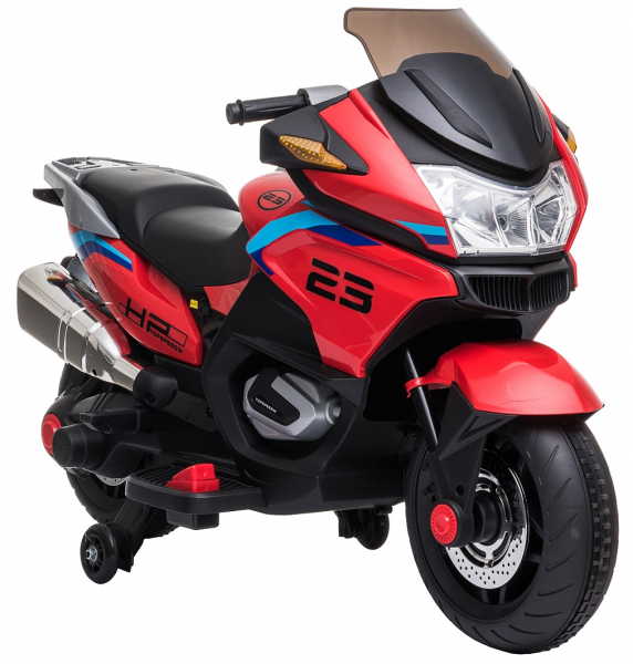 Motocicleta electrica cu 2 roti Premier Flash, 12V, roti cauciuc EVA, MP3 16