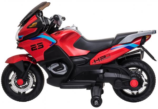 Motocicleta electrica cu 2 roti Premier Flash, 12V, roti cauciuc EVA, MP3 5