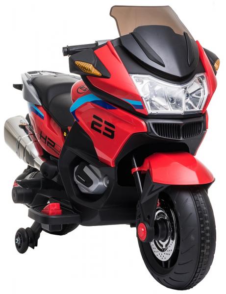 Motocicleta electrica cu 2 roti Premier Flash, 12V, roti cauciuc EVA, MP3 17
