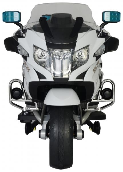 Motocicleta electrica de politie Premier BMW R1200 RT-P, 12V, girofar si sunete, roti ajutatoare 7