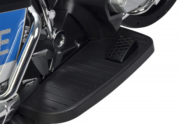 Motocicleta electrica de politie Premier BMW R1200 RT-P, 12V, girofar si sunete, roti ajutatoare 11