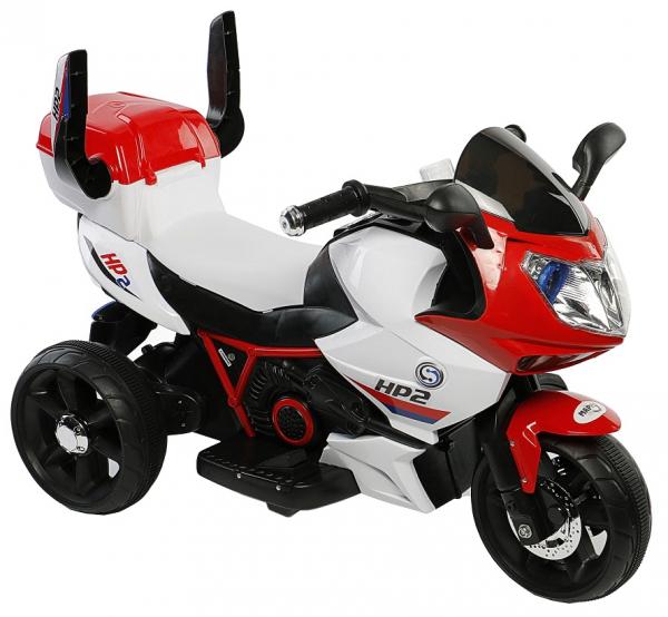 Motocicleta electrica cu 3 roti Premier HP2, 6V, 2 motoare, MP3, rosu [0]