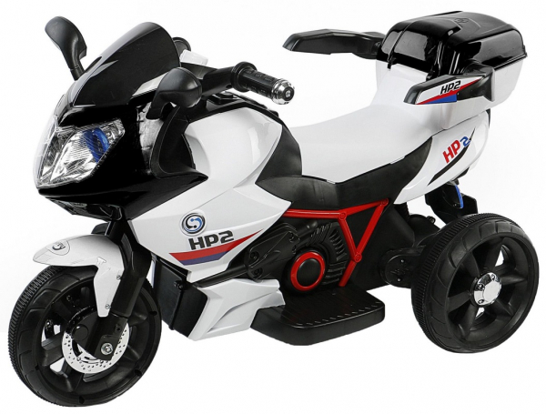 Motocicleta electrica cu 3 roti Premier HP2, 6V, 2 motoare, MP3, negru 0