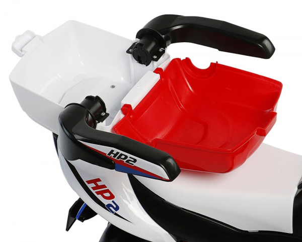 Motocicleta electrica cu 3 roti Premier HP2, 6V, 2 motoare, MP3, rosu [7]