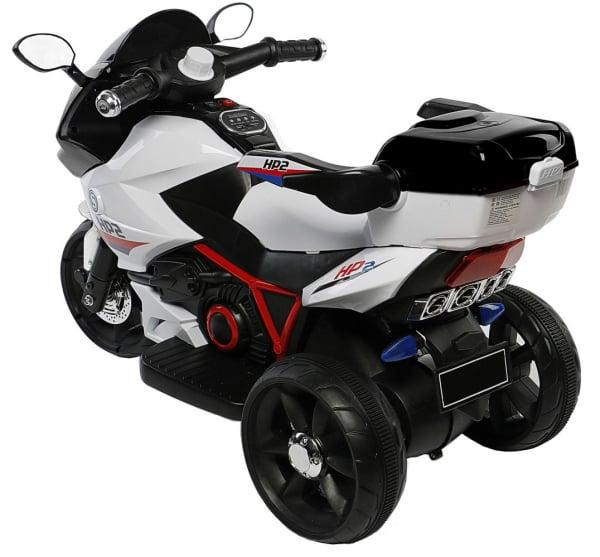 Motocicleta electrica cu 3 roti Premier HP2, 6V, 2 motoare, MP3, negru [2]