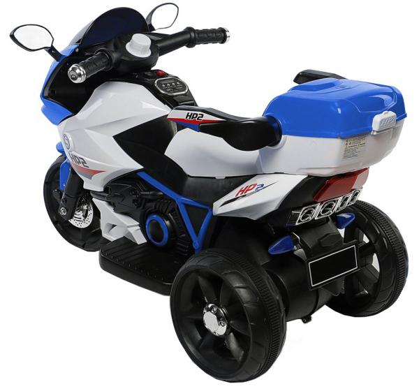 Motocicleta electrica cu 3 roti Premier HP2, 6V, 2 motoare, MP3, albastru 2