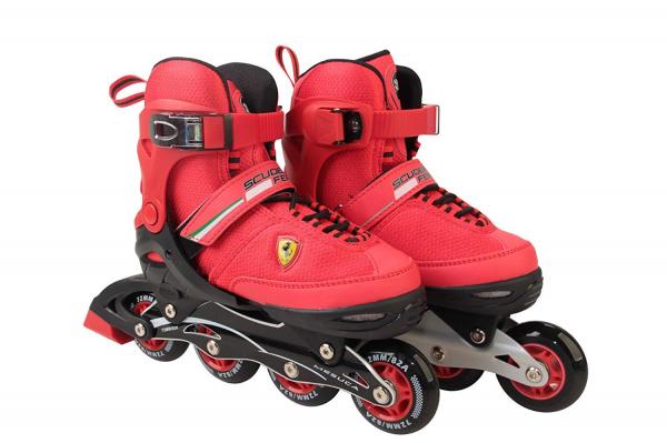 Role Ferrari pentru copii cu roti din silicon 0
