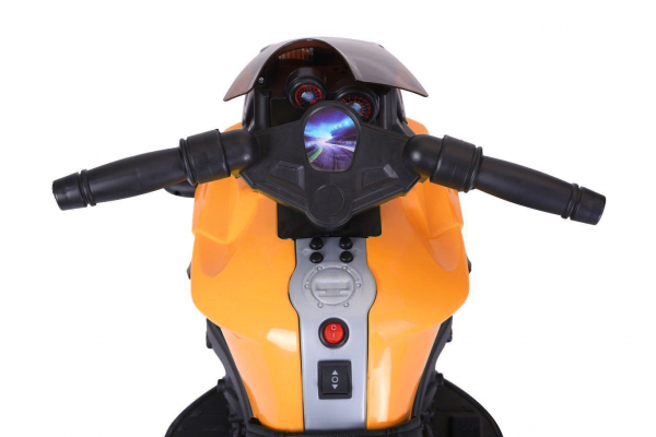MMotocicleta electrica cu 2 roti Premier Rider, 6V, muzica, roti ajutatoare 3