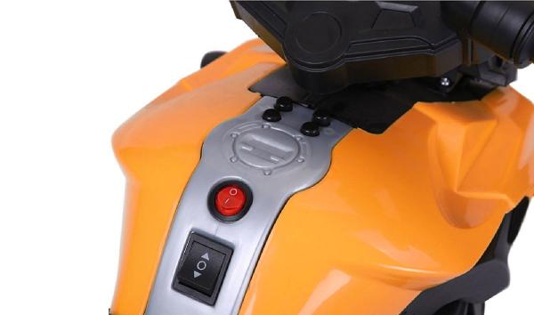 Motocicleta electrica cu 2 roti Premier Rider, 6V, muzica, roti ajutatoare 4