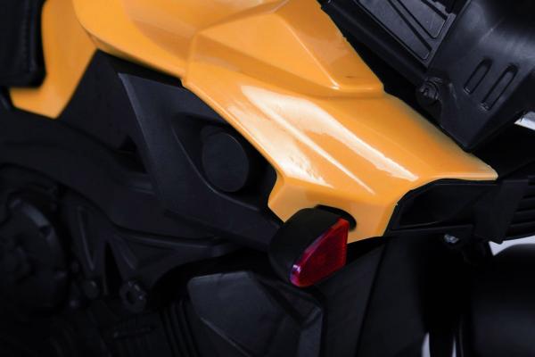 MMotocicleta electrica cu 2 roti Premier Rider, 6V, muzica, roti ajutatoare 5