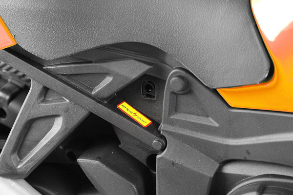 MMotocicleta electrica cu 2 roti Premier Rider, 6V, muzica, roti ajutatoare 6