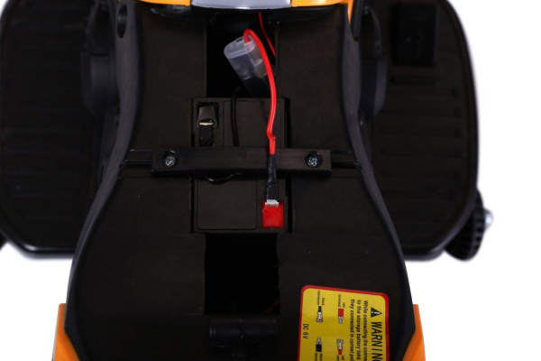 MMotocicleta electrica cu 2 roti Premier Rider, 6V, muzica, roti ajutatoare 8