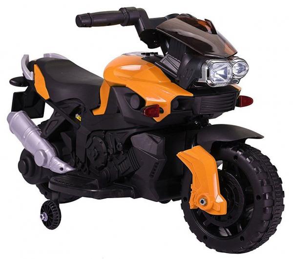 Motocicleta electrica cu 2 roti Premier Rider, 6V, muzica, roti ajutatoare 0