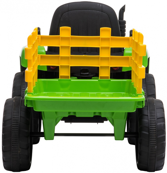 Tractor electric cu remorca Premier Farm, 12V, roti cauciuc EVA 8