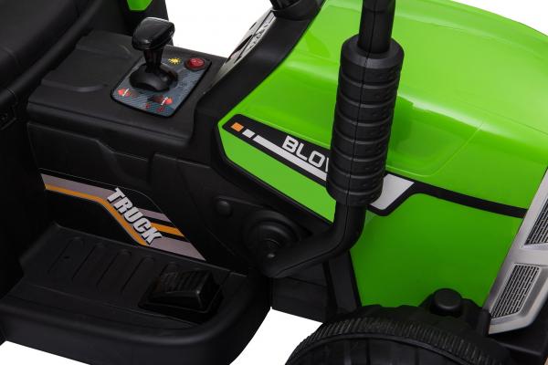 Tractor electric cu remorca Premier Farm, 12V, roti cauciuc EVA 20