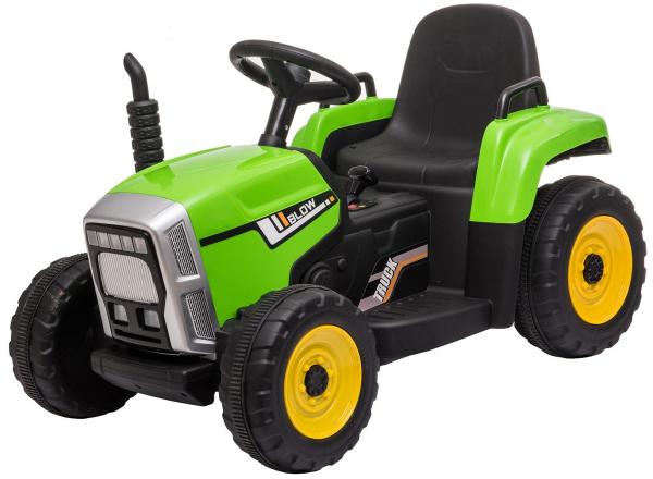 Tractor electric cu remorca Premier Farm, 12V, roti cauciuc EVA 39