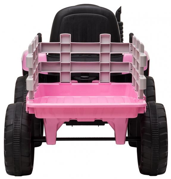 Tractor electric cu remorca Premier Farm, 12V, roti cauciuc EVA 10
