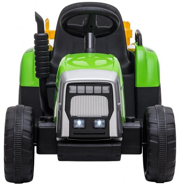Tractor electric cu remorca Premier Farm, 12V, roti cauciuc EVA 2
