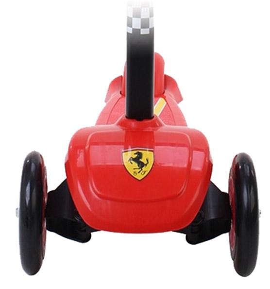 Trotineta Ferrari cu 3 roti cu sistem de franare si suspensii 3