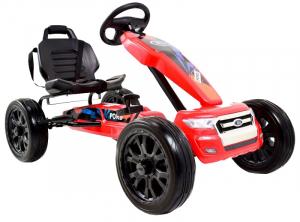 Kart Ford rosu cu pedale1