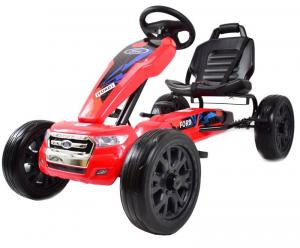 Kart Ford rosu cu pedale0
