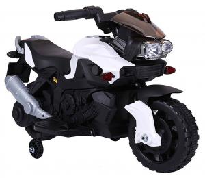 MMotocicleta electrica cu 2 roti Premier Rider, 6V, muzica, roti ajutatoare0