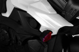 MMotocicleta electrica cu 2 roti Premier Rider, 6V, muzica, roti ajutatoare6