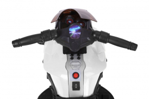MMotocicleta electrica cu 2 roti Premier Rider, 6V, muzica, roti ajutatoare4